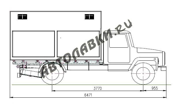 Shema GAZ 3307 1