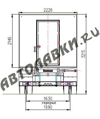 Shema GAZ 3307 2