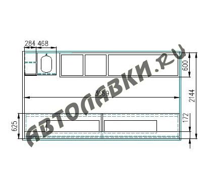 Shema GAZ 3307 3